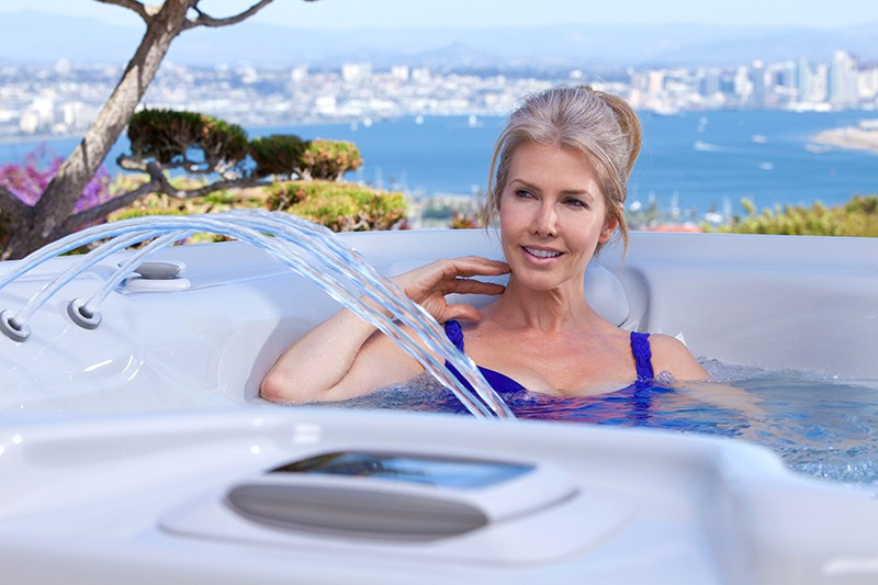 Luxury hot tubs have the very best features.
