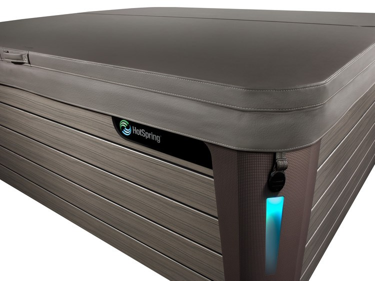A securely-fitting hot tub cover protects your spa.