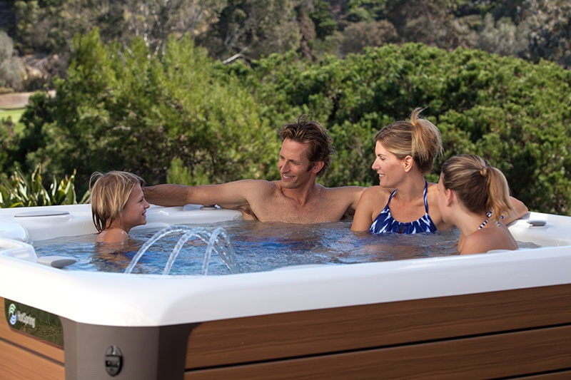 Your hot tub dealer can help you find the perfect model.