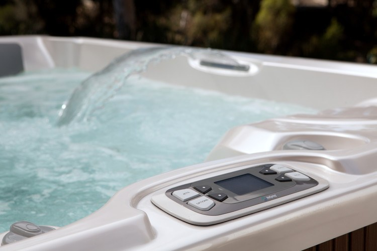 For safety, keep your hot tub water clean.