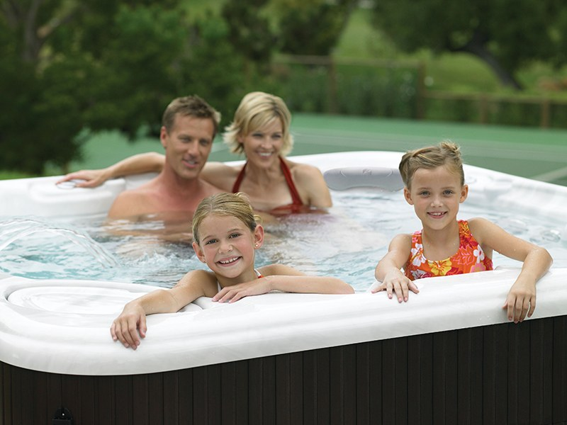Keep your whole family safe in your hot tub.