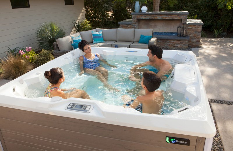 How many seats will you need in your hot tub?