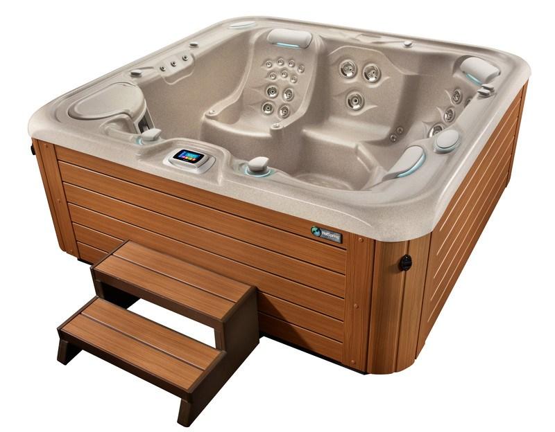 Acrylic hot tub shells are the connoisseur's choice.