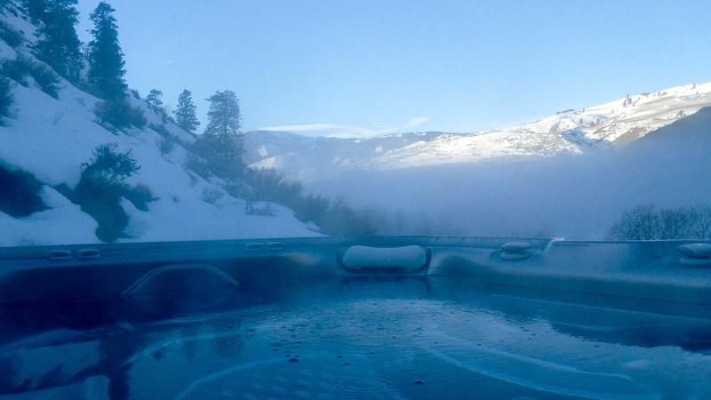 How Much Does My Hot Tub Cost to Run in Winter?   Hot Spring Spas