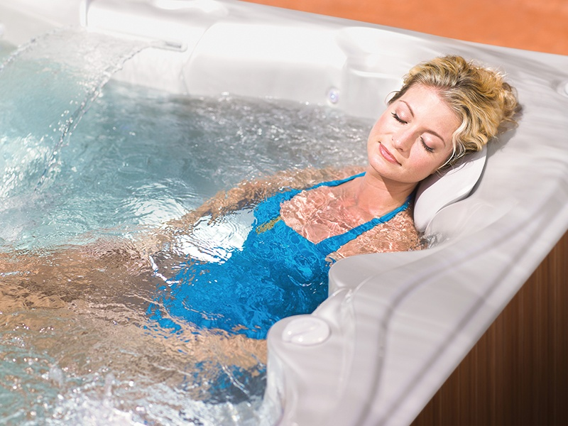 Hot tubs may help relieve muscle pain.